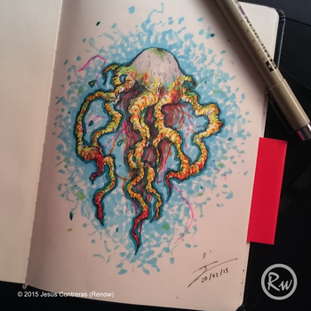 Jellyfish /Concept Art/ by Renow54