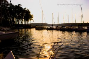 Sunset at the Docks by Wfate