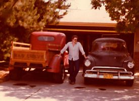 Me N' my 38 and 51 Chevy's by StallionDesigns