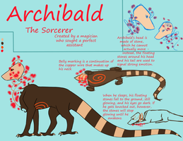 Archibald Reference by OnceISawACow