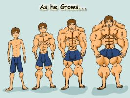 As he Grows 1 by hearmenowu2