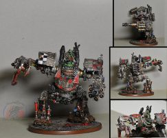 Forgeworld ork Mega Dread by Snowfyre