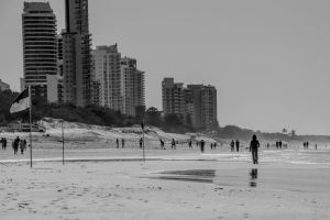 Winters Day at the Beach by droy333