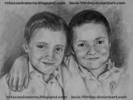Brothers portrait by Lucia-95RduS