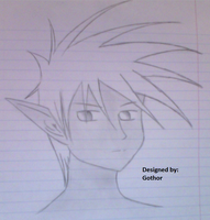 Drawing of a DFO Character I Have by Devious-Archangel