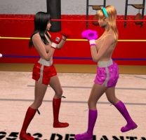 Nicole vs Lilly 003 by chuy9502
