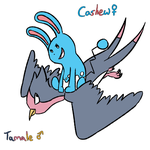 Marriland fanart: Tamale and Cashew by Cammadolph