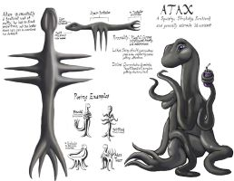 Atax Character Reference Sheet by Scorpion451