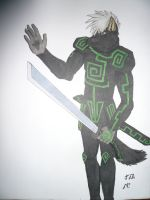 Shadow, wolf knight by Neofox462