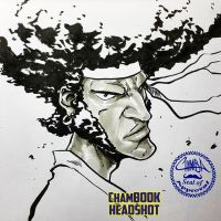 ChamBOOK Headshot - Afro Samurai + video link by theCHAMBA