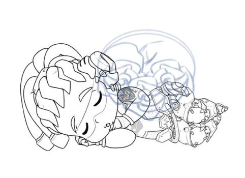 Chibi Lucio for a proyect by Daeshagoddess