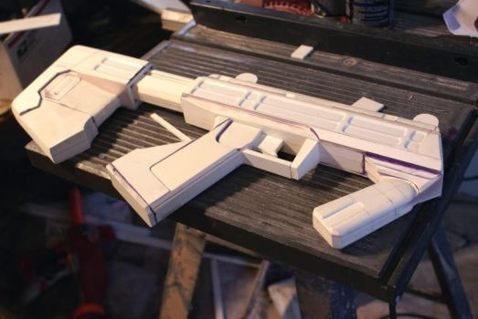 HALO SMG Prototype by Matsucorp