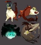 MONSTER MES by Psshaw