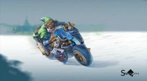 Link's Master Cycle by Sigacomer