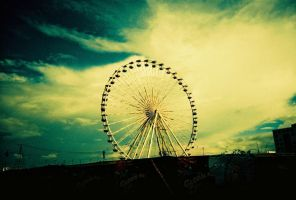 ferris wheel by lianner