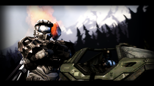 Halo Reach by zimsd619