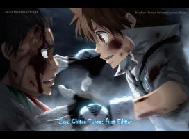 Xanxus and Tsuna by AR-UA