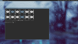 actual i3 terminal workspace by LovelyBacon