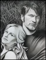 True Blood Collection: Sookie and Bill by Skaughtt