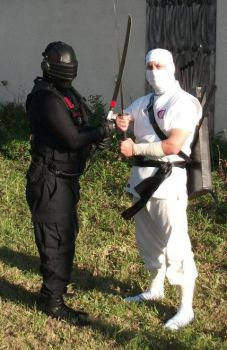 Snake Eyes VS. Storm Shadow by 5nakeEyes