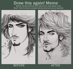 before after by saroOony