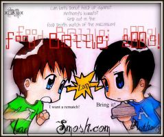 Smosh: Food Battle 2009 by Tibbayyy