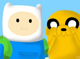 Finn and Jake! by HNRat