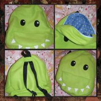 RS-Moster Backpack by RabidSquirrels