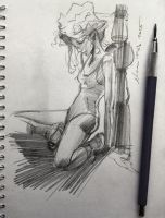 daily sketch 3768 by nosoart