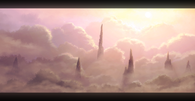Ethereal Spires by Enigmatic-Ki