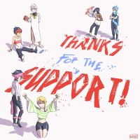 Thanks For The Support by odunze