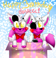 .:GIFT/REQUEST:. Happy Birthday, dashcal1! by BitterSweetBubbles