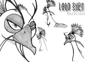 Lord Shen - Sketches by Yula568