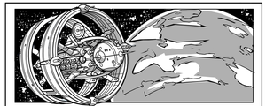 Buck Rogers Page 1 Preivew panel the Asterite! by CapitalComicsStudios