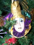 Christmas Ornament Clown by seiyastock