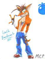 Crash Bandicoot by mcp100