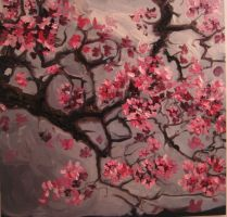 plum blossoms by Charles-Burggraf