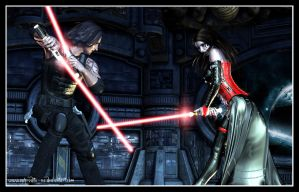 Sith Duel of Fates by Aphrodite-NS