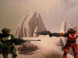 Halo 3 Action Figures by Link2262