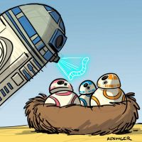 Droid nest by BrianKesinger
