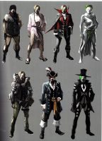 Leon RE6 Extra Costumes 1 by Sparrow-Leon