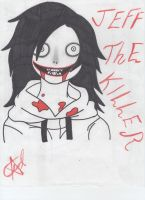 jefff the killer by cheshirecid