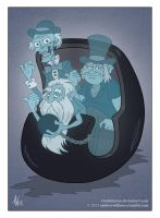 Hitchhiking Ghosts by StudioBueno