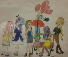 My Little Pony People by der-Luxus