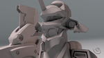 Eva Model Preview Closeup by Bahr3DCG