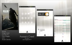 4th layout: Assassin's Creed by DunaLonghorn