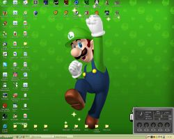 Luigi desktop by mabase