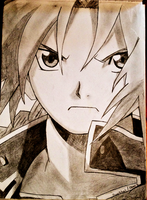 Edward Elric - Sketch by DivineRitual