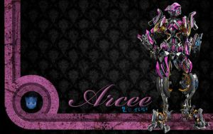 Arcee Wallpaper by Heathenesque