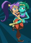 Shantae and Rottytops by travisfowlerartstuff